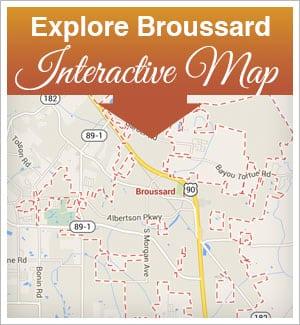 Explore Broussard - Interactive Map
