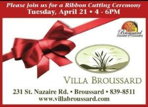 Grand Opening/Ribbon Cutting Celebration @ Villa Broussard | Broussard | Louisiana | United States